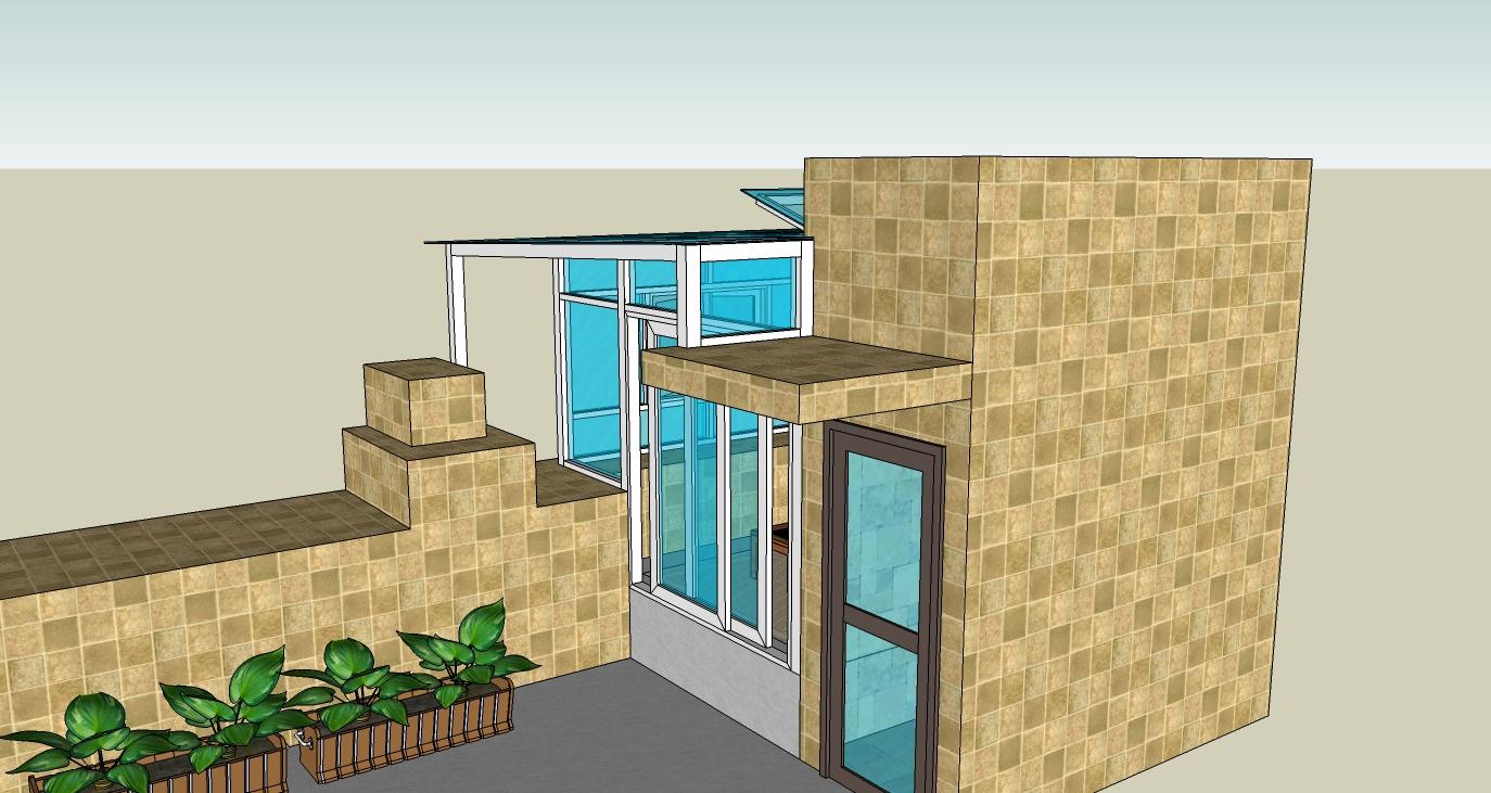 2016楼顶阳光房设计效果图