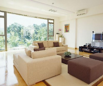 客厅落地窗设计尺寸,应根据天然采光设计要求的各类用房窗地